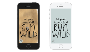 free iPhone and iPad lock screen from Chasing Lilac