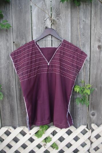 Chasing Lilac // Purple, Pink and Blush Shirt // Chasing Lilac Hand Made Clothing